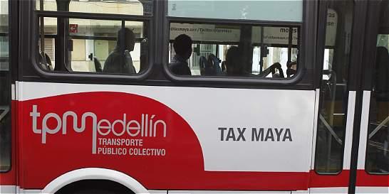 Conductores de Tax Maya entran a paro por 'vacunas'