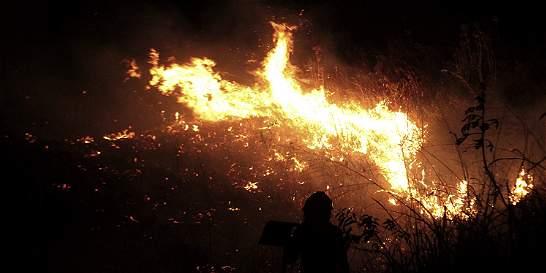 Incendio ha consumido 40 hectáreas en Carolina del Príncipe