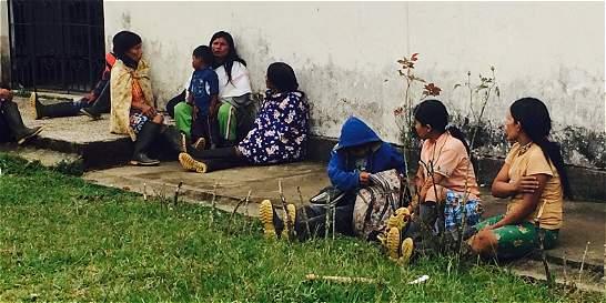 Emberas del Chocó protestan por desescolarización