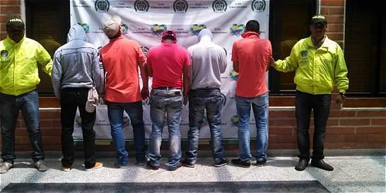 Cae banda que extorsionaba a más de 2.000 comerciantes en Medellín