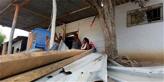 Siete municipios afectados por vendavales a causa de El Niño
