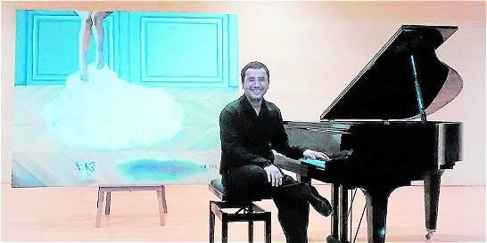 Lezlie Berrío y su 'carnal relación' con el piano