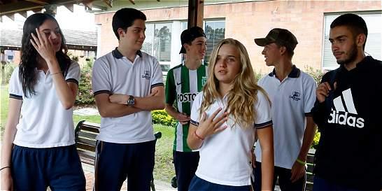 Niños de 12 países tienen la voz en diálogo global en Medellín