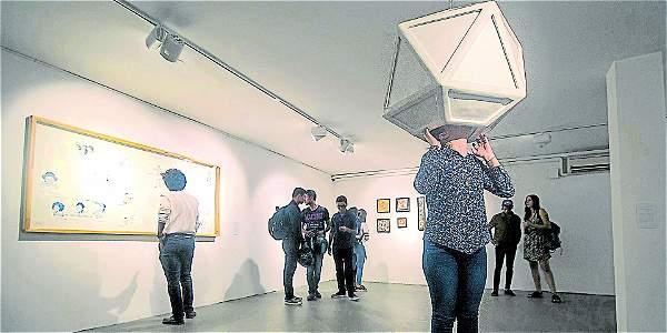 La exposición 'Ecologías Culturales y Artísticas' fue inaugurada en Crealab, del Centro Cultural de la Facultad de Artes de la Universidad de Antioquia.