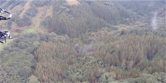 Accidente aéreo en Antioquia deja tres personas muertas