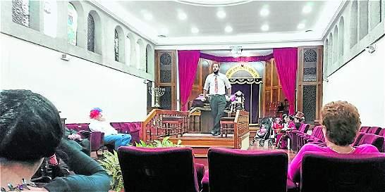 La fiesta judía en Medellín, en plena Semana Santa católica