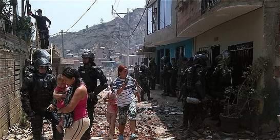 En Bello denuncian atropellos de Gobierno y Esmad contra la comunidad