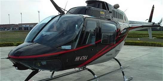 Helicóptero desaparecido fue encontrado en Chigorodó