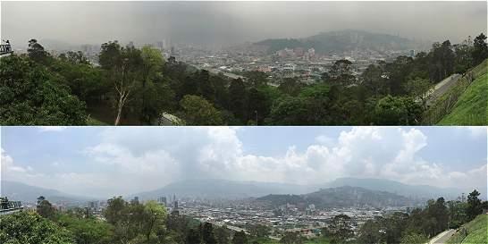 El aire de Medellín mejoró, pero aún no se supera emergencia ambiental
