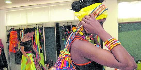 El talento textil 'afro' se fomenta