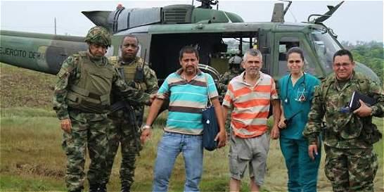 En libertad conductores secuestrados por el Eln en Chocó