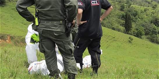 Guaqueros, víctimas de triple homicidio en finca de La Pintada