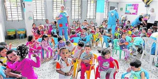 Atención a la primera infancia es una prioridad en Medellín