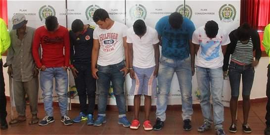 Capturados 14 integrantes del 'Clan Úsuga' y una banda de microtráfico