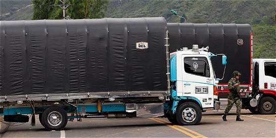 Policía refuerza medidas ante posible paro de camioneros en Antioquia