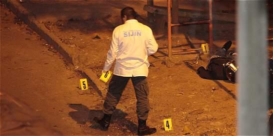 Cinco personas fueron asesinadas en una sola noche, en Medellín