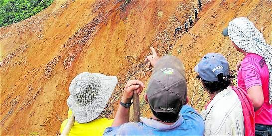 Sobreviviente narra cómo se salvó del alud de tierra en Quibdó