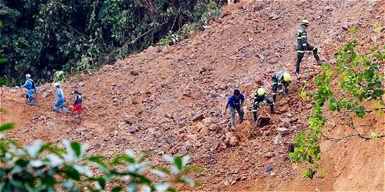 Polémica por falta de rescatistas en tragedia de Chocó