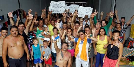 A 480 asciende cifra de cubanos 'varados' en Turbo