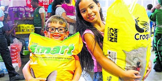 'Donatón Animal' en Medellín superó la meta y dejó huella