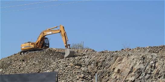 Piedra que rodó unos 30 metros mató a un hombre en Antioquia