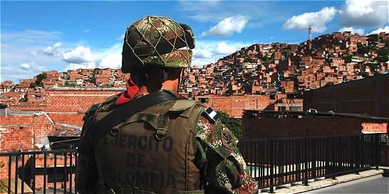 Nuevo batallón en Medellín combatirá crimen organizado