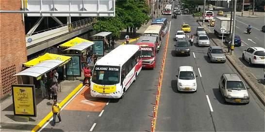 En seis meses estarán listos 84 kilómetros de carriles solo bus