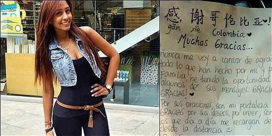 'Hay Juli López pa' mucho rato': carta de modelo paisa presa en China