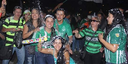 Así se vivió la fiesta 'verdolaga' en Medellín