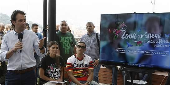 El regaño del alcalde de Medellín a un cantante de reguetón