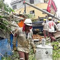 Vendaval en Caucasia (Antioquia) deja más de 20 barrios afectados