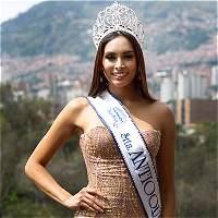 Nueva reina de Antioquia se alista para Cartagena