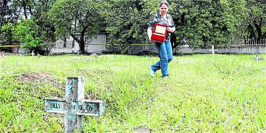 Revelan que restos desaparecieron del cementerio Universal de Medellín