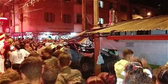 Dos muertos  y cinco heridos dejó accidentre de tránsito en Bello