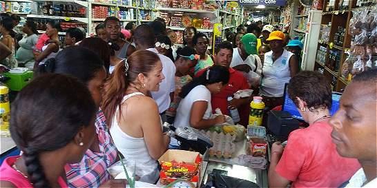Habitantes del Chocó aprovechan apertura del comercio para abastecerse