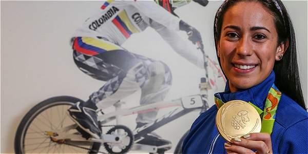 El colombiano Carlos Ramírez, bronce en la final de BMX