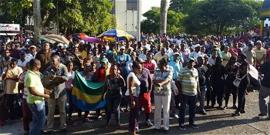 Después de ocho días, ponen fin al paro en Chocó