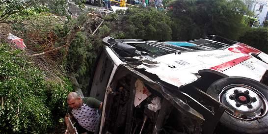 Accidente de tránsito en Medellín deja 39 heridos