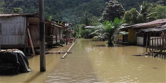 Inundaciones y desnutrición tienen al Alto Baudó en calamidad pública