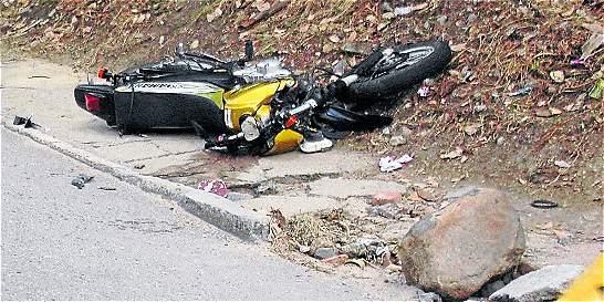 Los accidentes fatales de motos aumentaron el 35 por ciento
