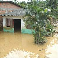Lluvias dejan al menos 20.000 damnificados en dos municipios del Chocó