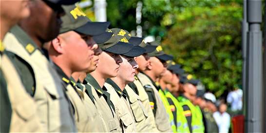 Presentaron Unidad Policial para zonas veredales de paz en Antioquia