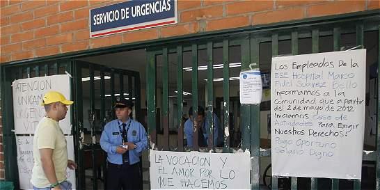 Hospital Marco Fidel Suárez de Bello cerró el 70 % de servicios