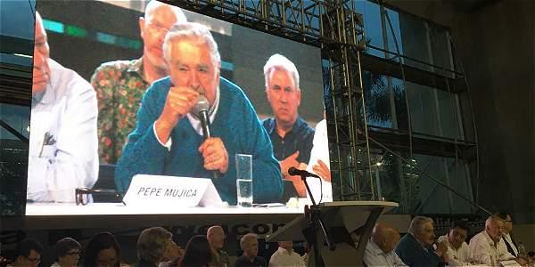 Discurso Pepe Mujica sobre la paz en Colombia