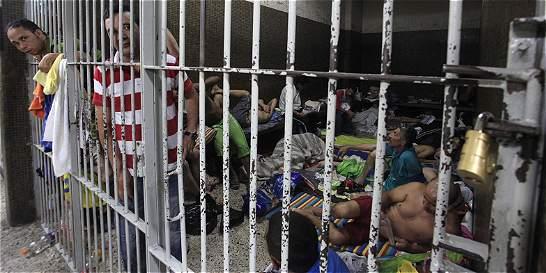 Hacinamiento también llegó a estaciones de Policía de Medellín