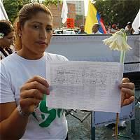 Víctimas del conflicto celebraron la firma de la paz