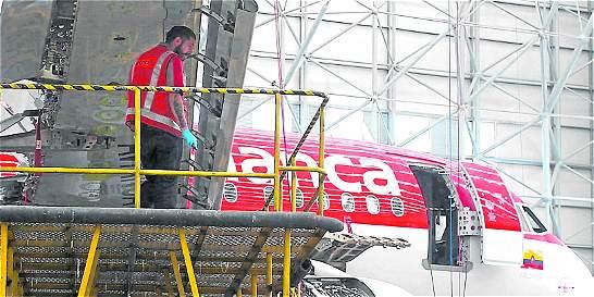 Avianca inauguró su propia 'clínica' de aviones