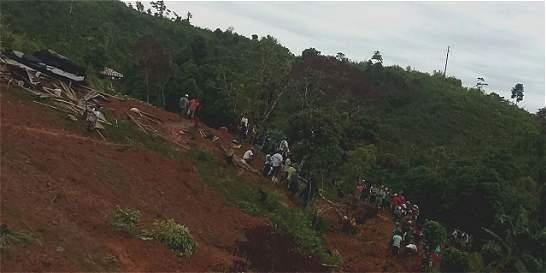 Invierno está causando estragos en Antioquia