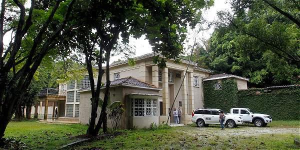 La mansión Montecasino está en El Poblado, Medellín.