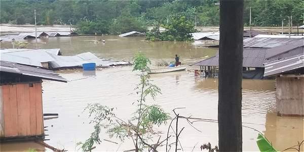 Hasta el momento se tiene el reporte de 17 municipios afectados.